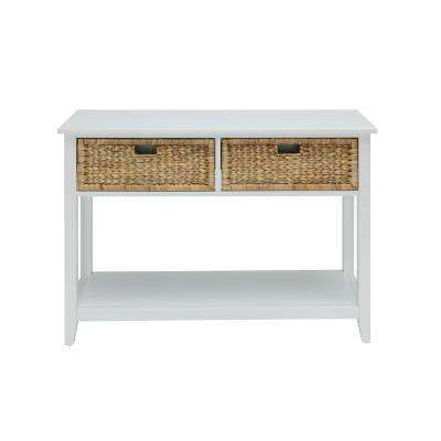 Flavius Console Table in White