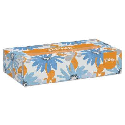 2-Ply White Pop-Up Box Facial Tissue (100 per Box, 36-Boxes per Carton)