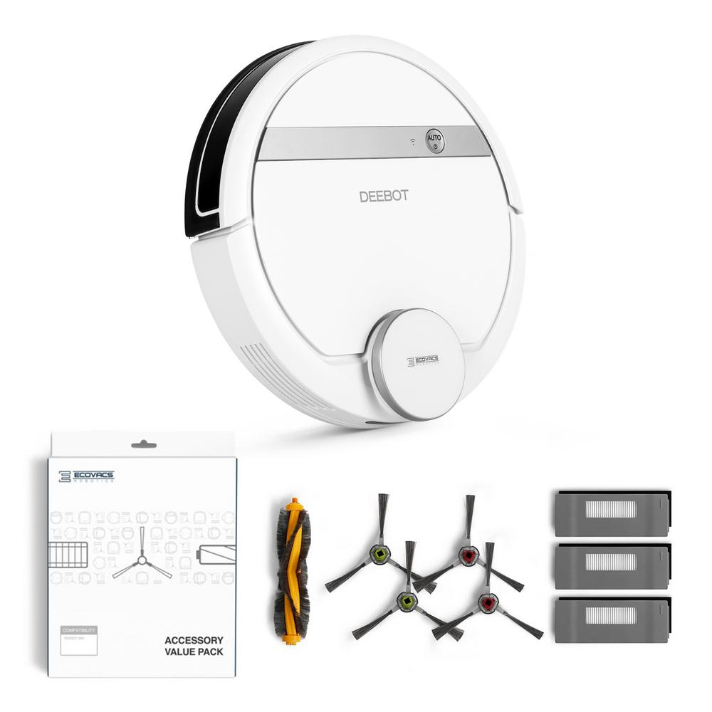 DEEBOT 900 Robotic Vacuum Cleaner with Service Kit