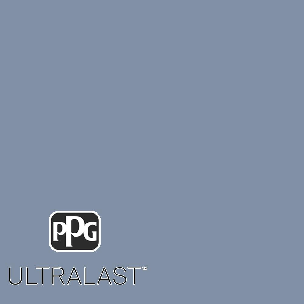Ppg Ultralast 5 Gal Ppg1164 5 Blueberry Muffin Eggshell Interior Paint And Primer Ppg1164 5u 05e The Home Depot