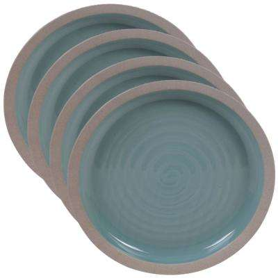 Artisan Teal Dinner Plate (Set of 4)
