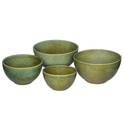 Ferncliff Mixed Mixing Bowls (Set of 4)