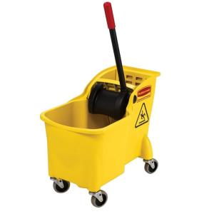 Rubbermaid Commercial Products 7.75 Gal Tandem Mop Bucket by Rubbermaid Commercial Products