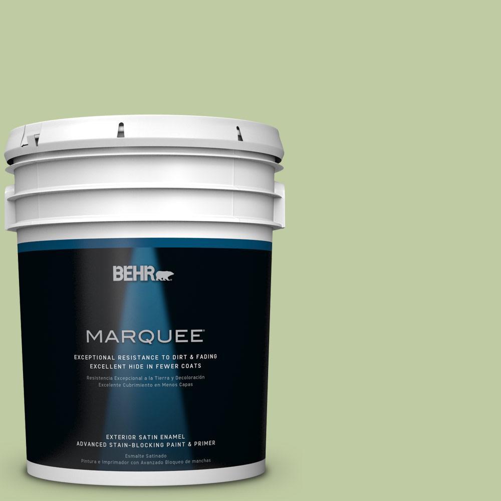 BEHR MARQUEE 5-gal. #M360-4 Marjoram Satin Enamel Exterior Paint