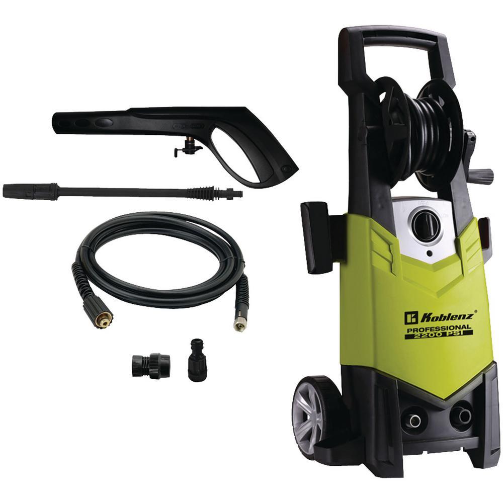 Koblenz HL 410 2200-PSI 1.32-GPM Electric Pressure Washer