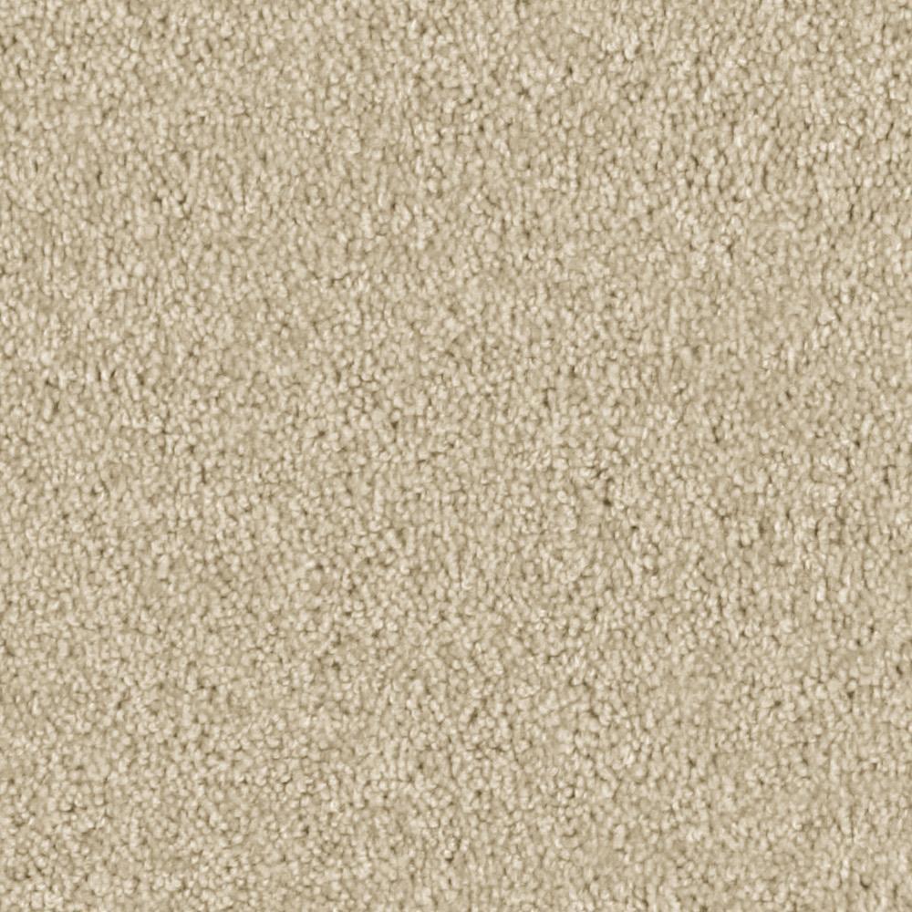 Carpet Sample - Team Builder - In Color Soft Sand 8 in. x 8 in.