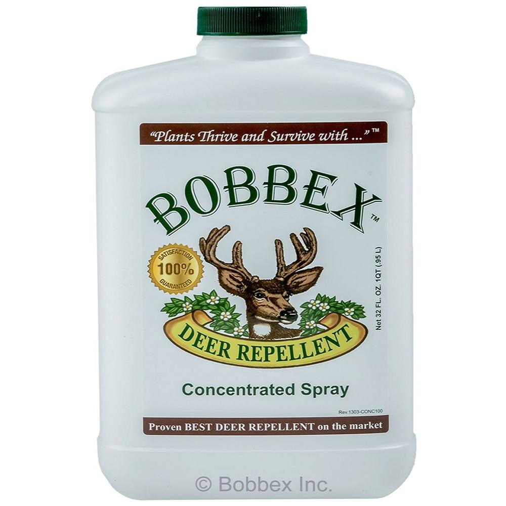 1 Qt. Bobbex Deer Repellent Concentrated Spray