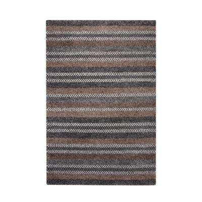 Granada Finley Charcoal/Grey/Brown/Ivory 5 ft. x 8 ft. Area Rug