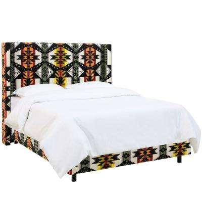 Eagle Rock Oasis Queen Wingback Bed