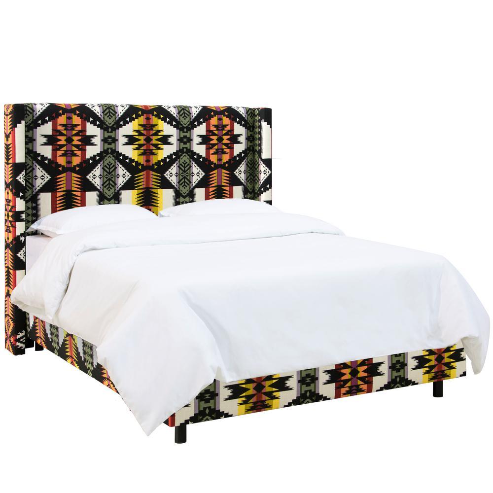 Eagle Rock Oasis California King Wingback Bed