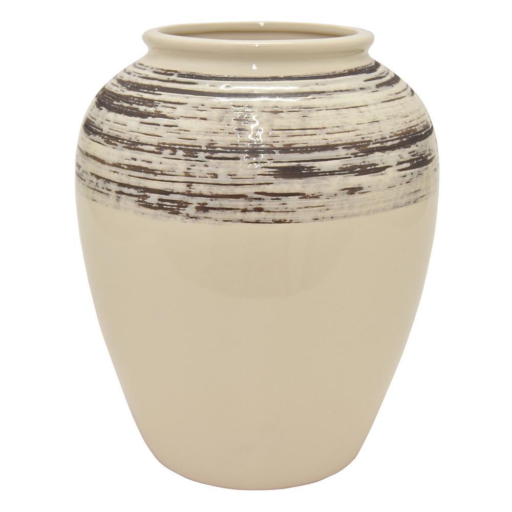 12 in. Ceramic Vase