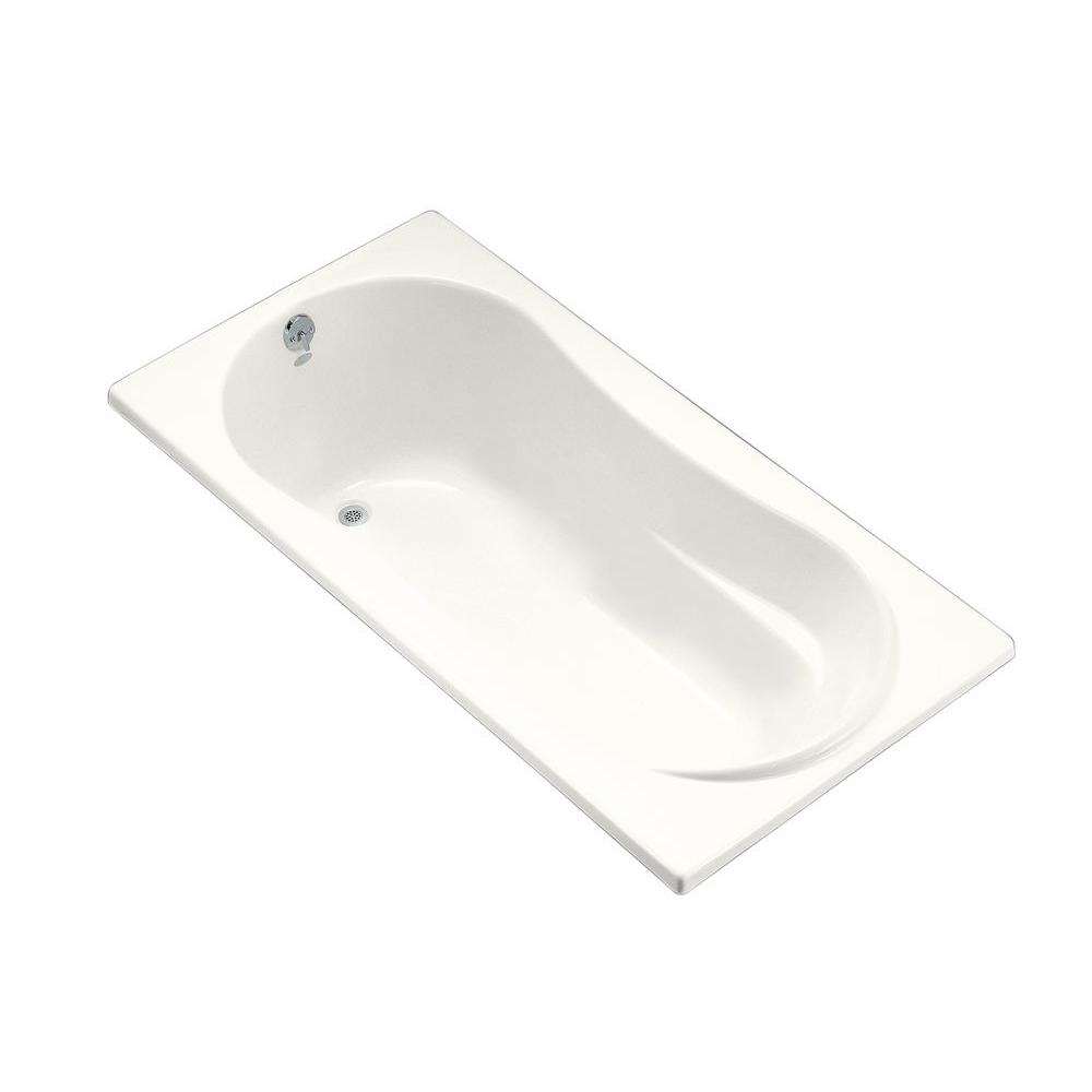 ProFlex 6 ft. Left-Hand Drain with Flange Acrylic Soaking Tub in