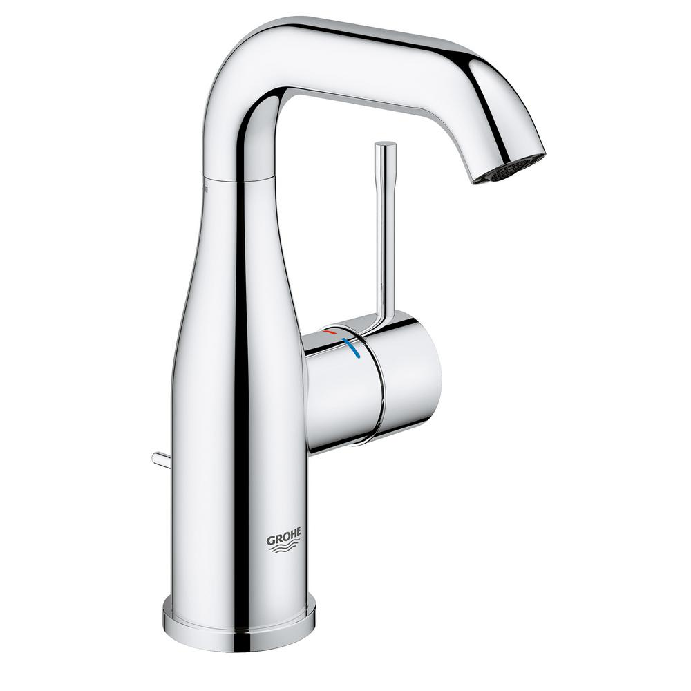Essence New 4 in. Centerset Single-Handle 1.2 GPM Bathroom Faucet in
