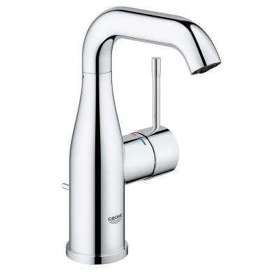 Essence New 4 in. Centerset Single-Handle 1.2 GPM Bathroom Faucet in StarLight Chrome