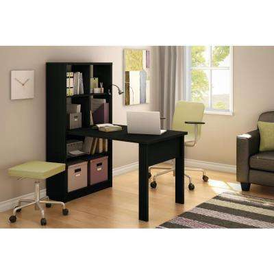 Annexe 2-in-1 Piece Pure Black Office Suite