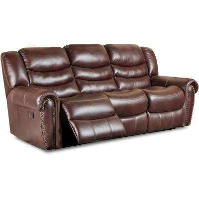 Lancaster 2-Piece Burgundy Sofa and Loveseat Set