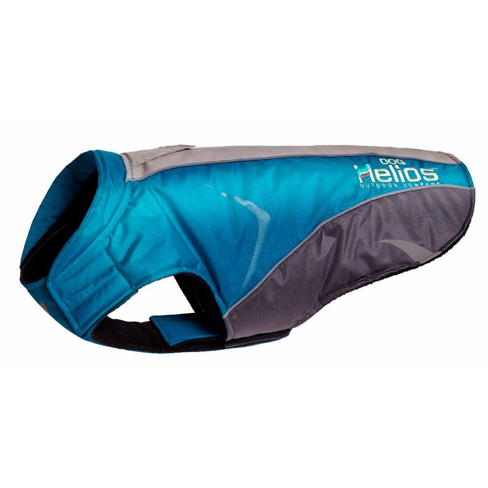 Helios Large Blue Altitude-Mountaineer Wrap- Protective Waterproof Dog Coat with