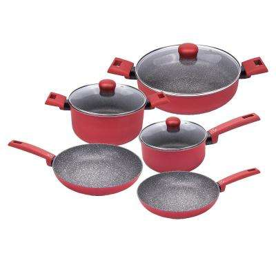 Inuo Riviera 8-Piece Non-Stick Cookware Set