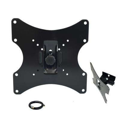 Heavy Duty Full Motion Mount for 17 in. - 42 in. TVs with HDMI Cable in Black