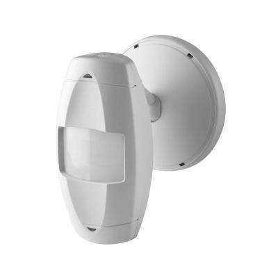 Commercial Grade Passive Infrared Wide View 2500 sq. ft. 110-Degree Wall Mount Occupancy Sensor, Off White