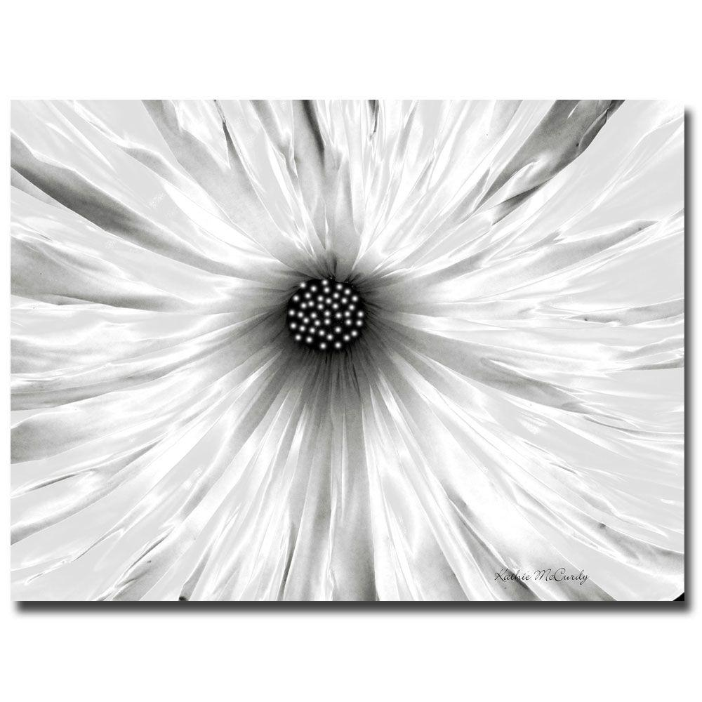 Trademark Fine Art 24 in. x 32 in. White Garden Canvas Art