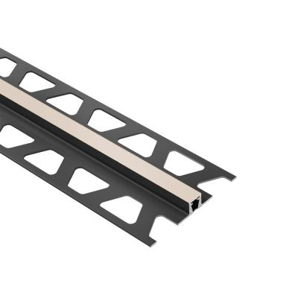 Dilex-BWB Cream 1/2 in. x 8 ft. 2-1/2 in. PVC Movement Joint Tile Edge Trim