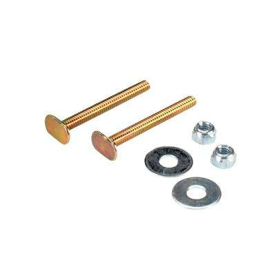 Toilet Bowl Bolt Kit with 1/4 in. x 2-1/4 in. Bolts, Nuts and Washers