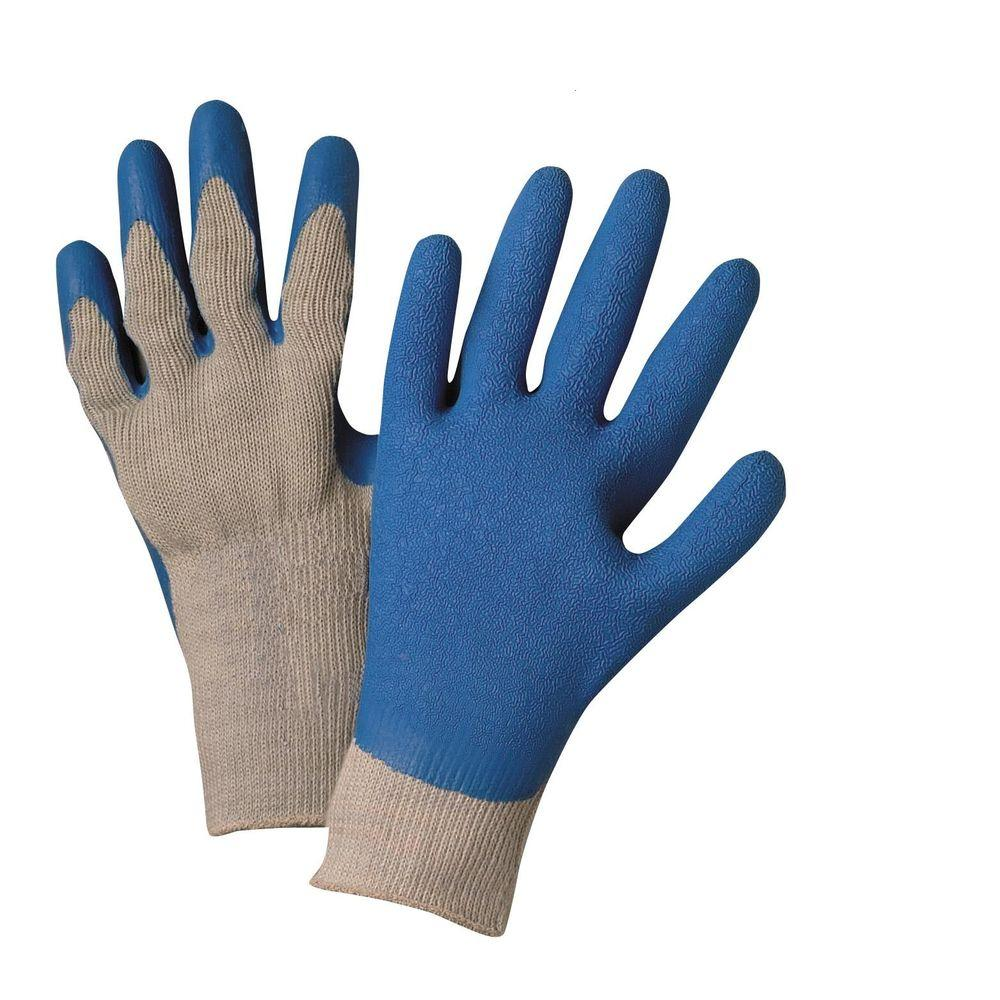 West Chester Latex Coated String Knit Large Multi-Purpose Gloves (3-Pack)
