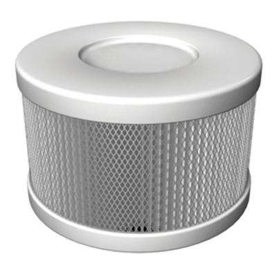 Snap On Cartridge Replacement HEPA Filter for Air Purifiers in White