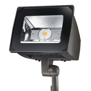 Lumark 51 watt bronze outdoor integrated led small head flood light lumark 51 watt bronze outdoor integrated led small head flood light with trunnion mount nffld s c15 t unv the home depot aloadofball Image collections