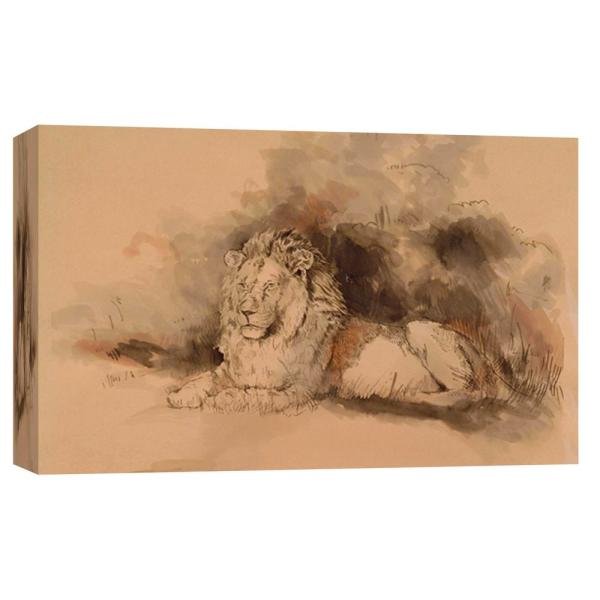 PTM Images 10 in. x 12 in. ''At Rest'' Printed Canvas