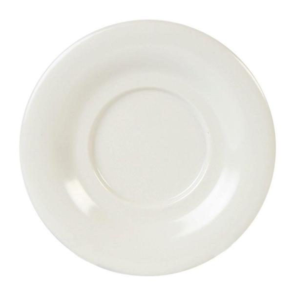 Restaurant Essentials Coleur 5-1/2 in. Saucer for Cr303/Cr9018 in Ivory