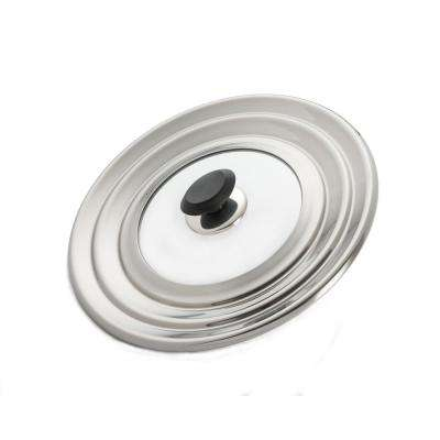 12-1/4 in. Universal 8 in./10 in./12 in. Stainless Versatile Lid