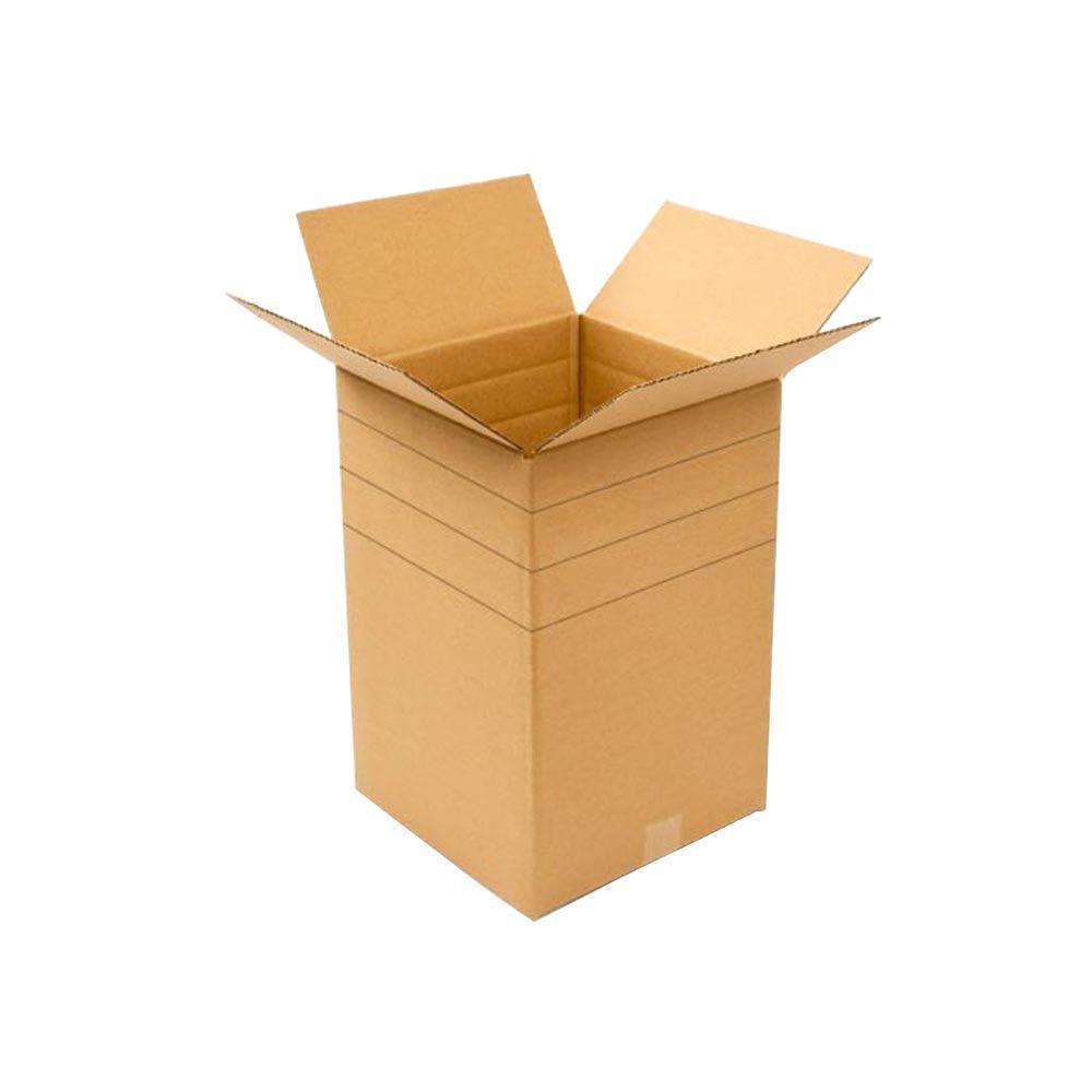 12 in. L x 12 in. W x 18 in. D Multi-depth Moving Box (25-Pack)