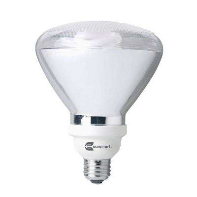 90W Equivalent Soft White (2700K) PAR38 CFL Light Bulb Flood (4-Pack)