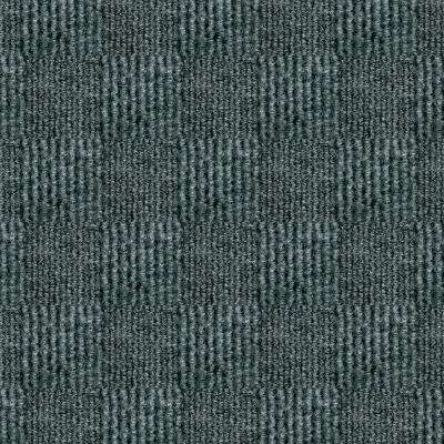 First Impressions City Block Smoke Texture 24 in. x 24 in. Carpet Tile (15 Tiles/Case)