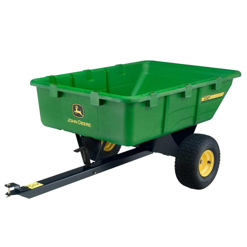 650 lb. 10 cu. ft. Tow-Behind Poly Utility Cart