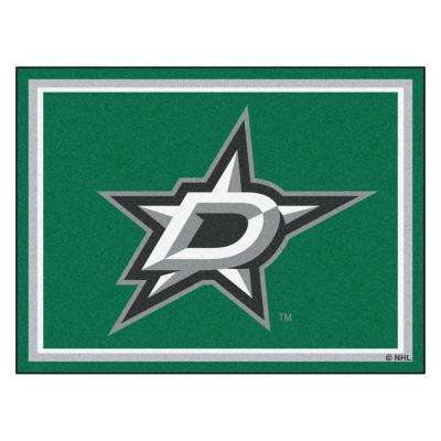NHL Dallas Stars Green 8 ft. x 10 ft. Indoor Area Rug