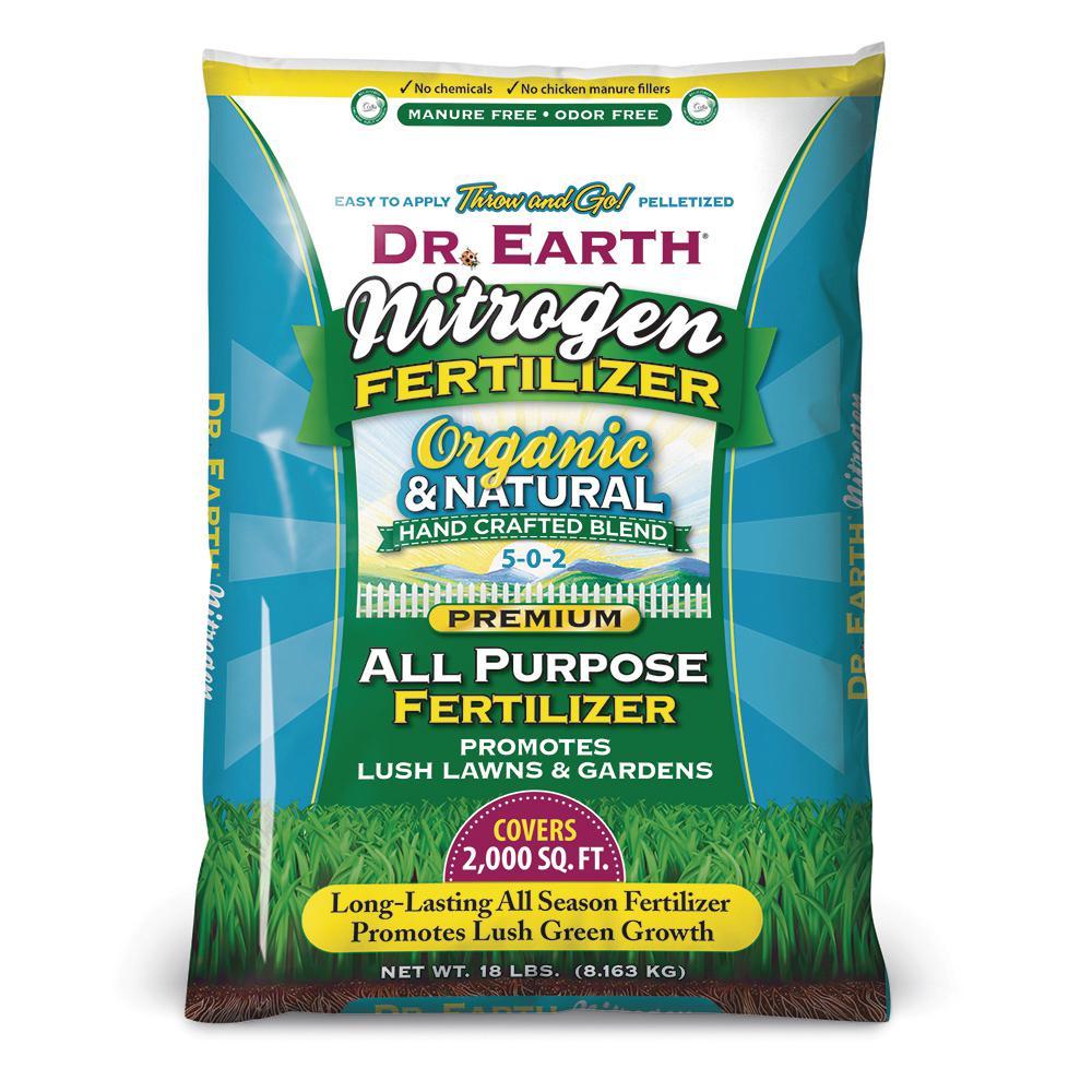 18 lbs. Lawn and Garden Fertilizer 5-0-2