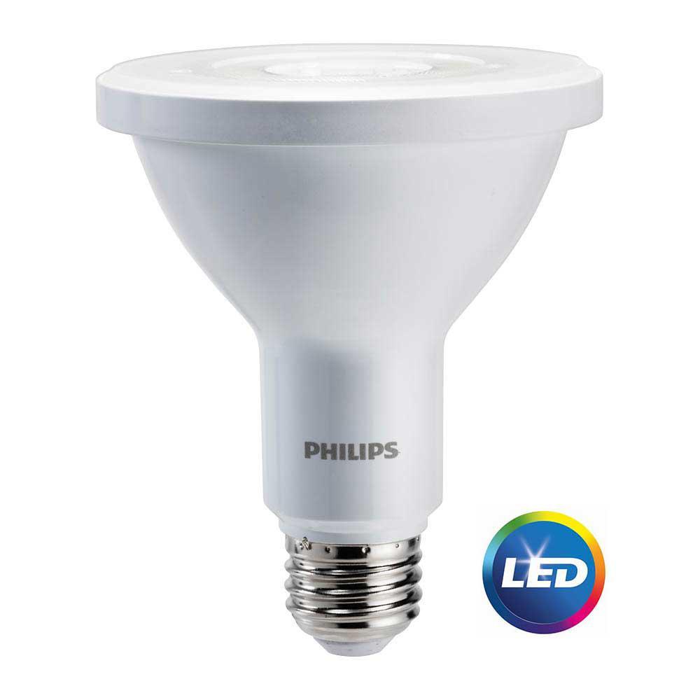 75W Equivalent Bright White PAR30L Indoor/Outdoor LED Energy Star Light Bulb