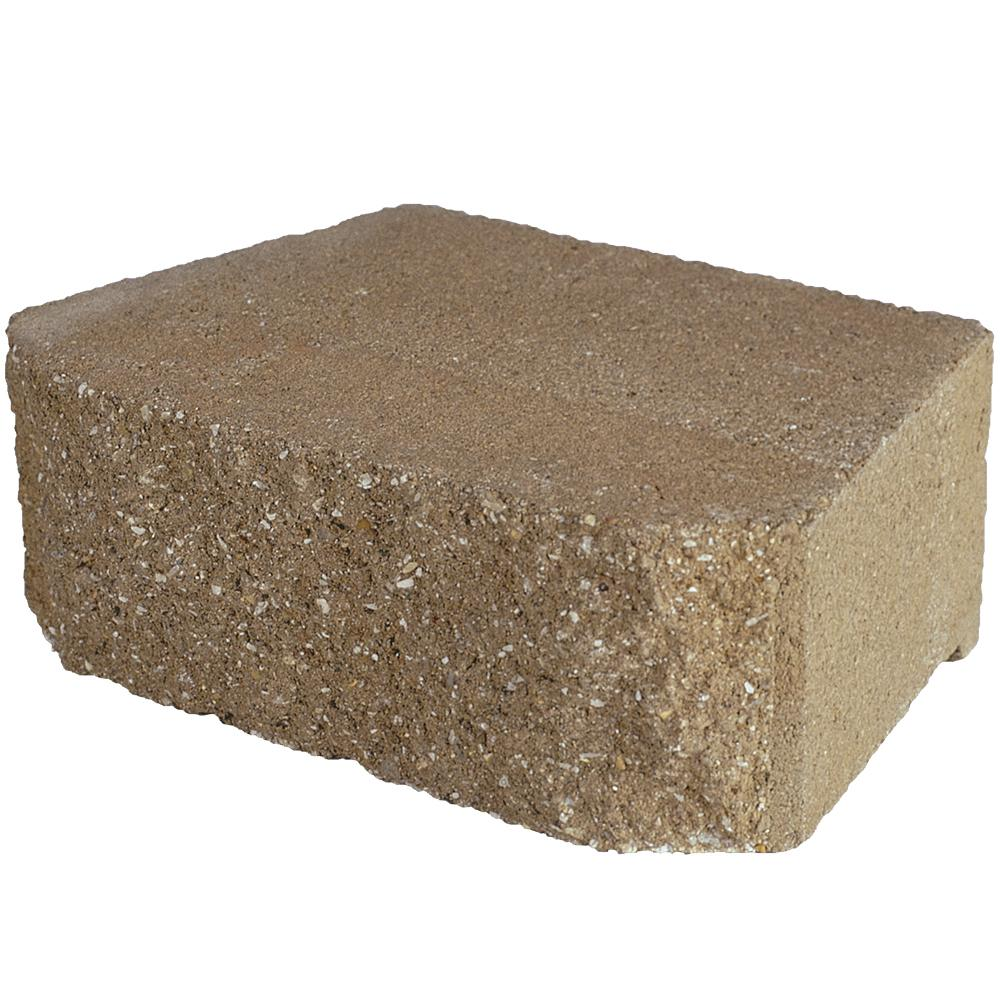 Pavestone 4 in. x 11.75 in. x 6.75 in. San Diego Tan Concrete Retaining Wall Block ( 144 Pieces/ 46.6 Sq. ft. / Pallet)
