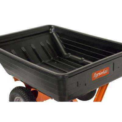 10 cu. ft. Poly Cart with 650 lbs. Heaped Capacity