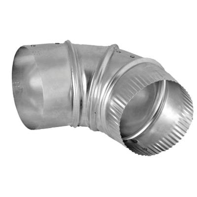 4 in. Aluminum 90-Degree Elbow