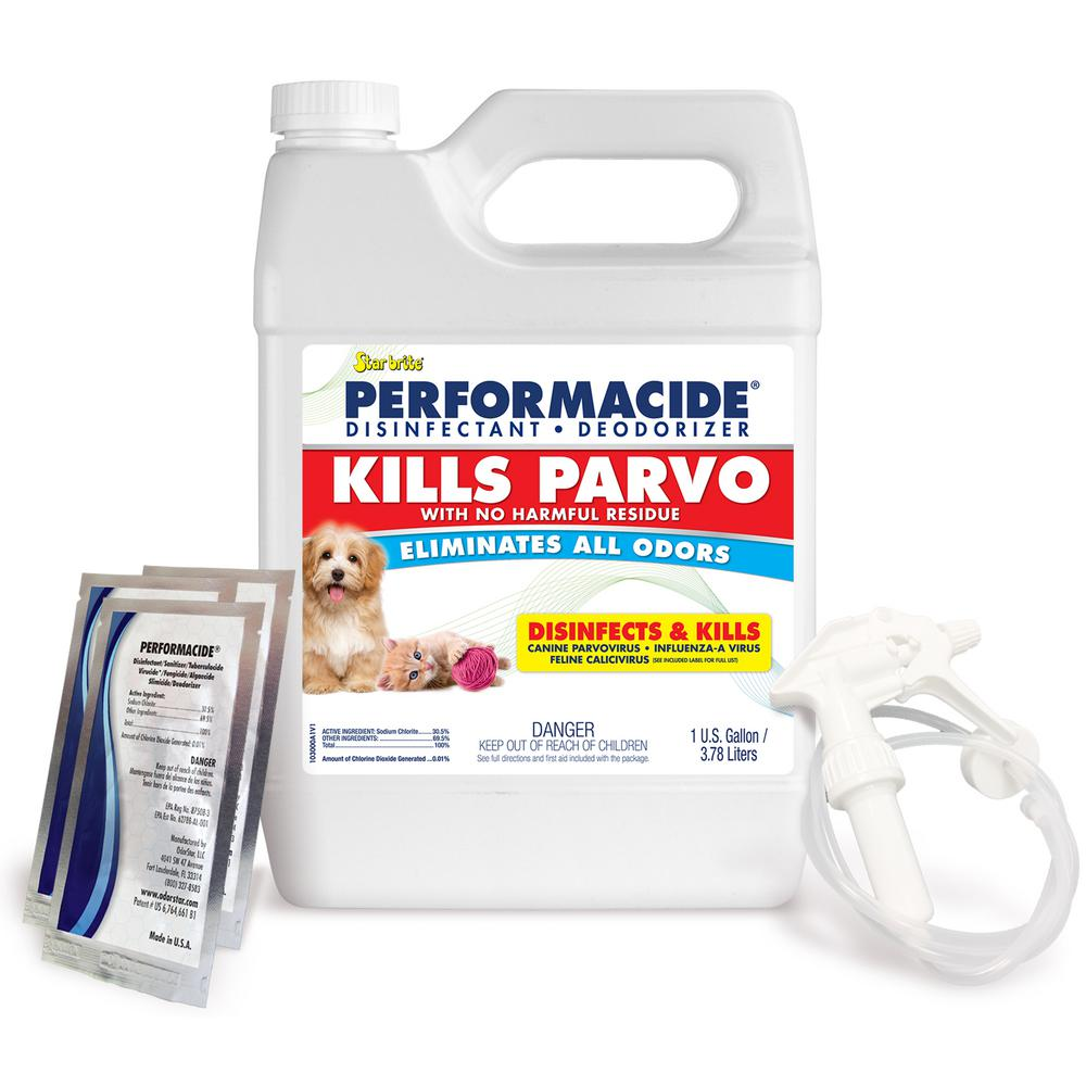 Kills Parvo 3 Pack Gallon Kit