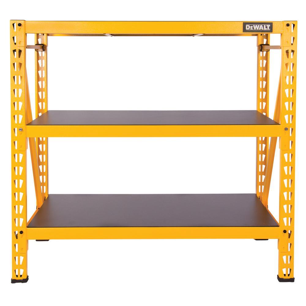 Dewalt 48 In H X 50 In W X 18 In D 3 Shelf Steel
