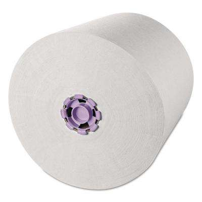 Hard Roll Towels White (6-Rolls/Carton)