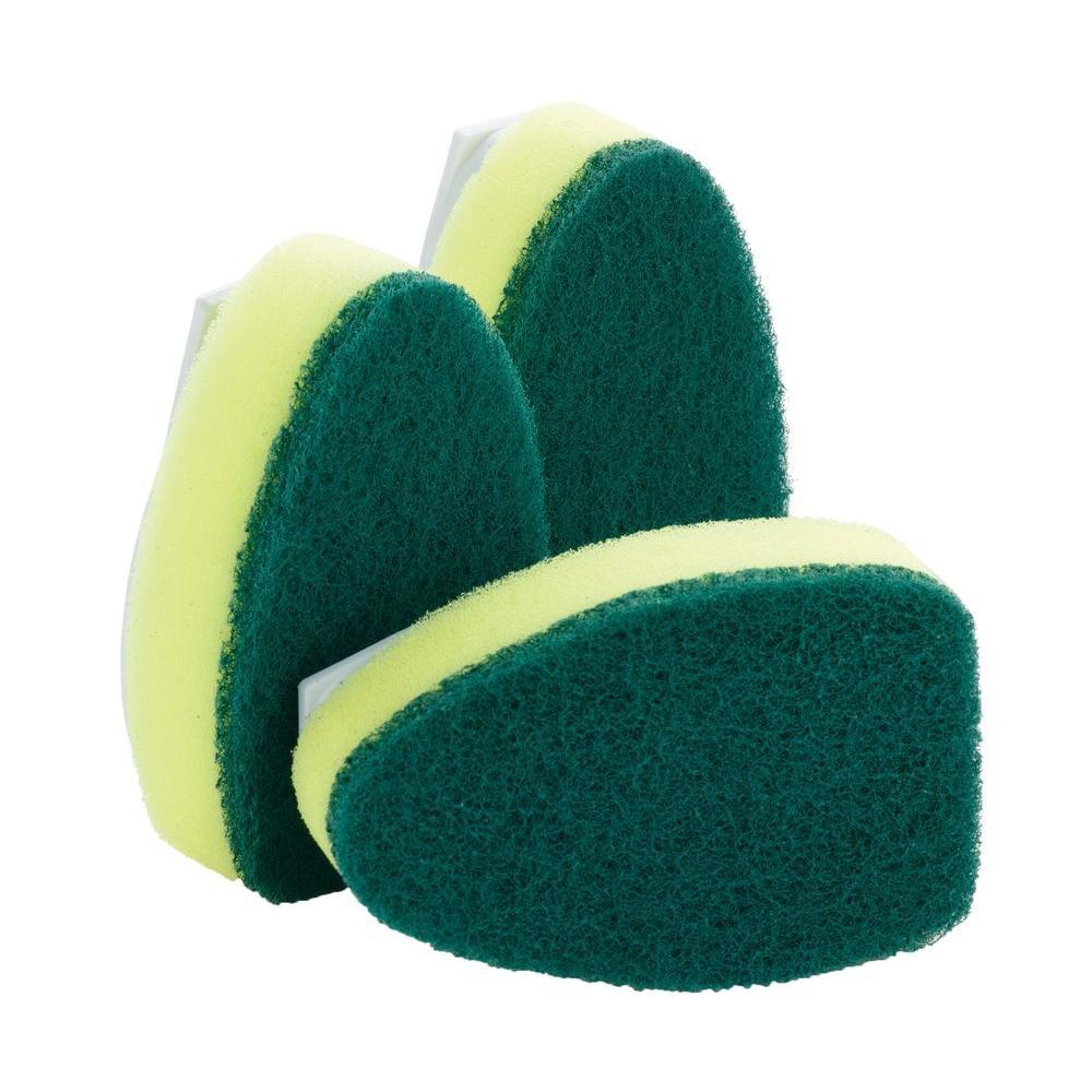 Scotch brite bathroom floor cleaner refills - Scotch Brite 2 2 In Heavy Duty Dishwand Refills 3 Pack 481t 12 Cc The Home Depot