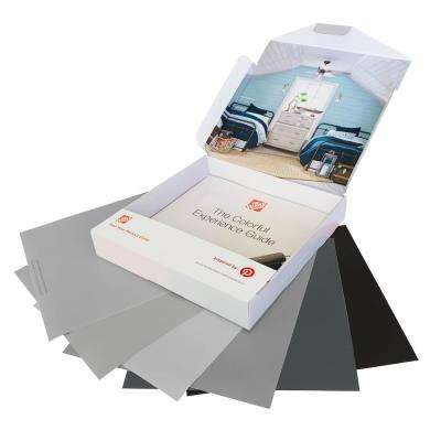 GRAYS 12x12 PEEL & STICK PAINT SAMPLE KIT