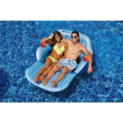 Convertible Duo Love Seat Chair Swimming Pool Lounge