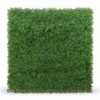 20 in. x 20 in. Boxwood Foliage Indoor/Outdoor Panels (4-Pack)